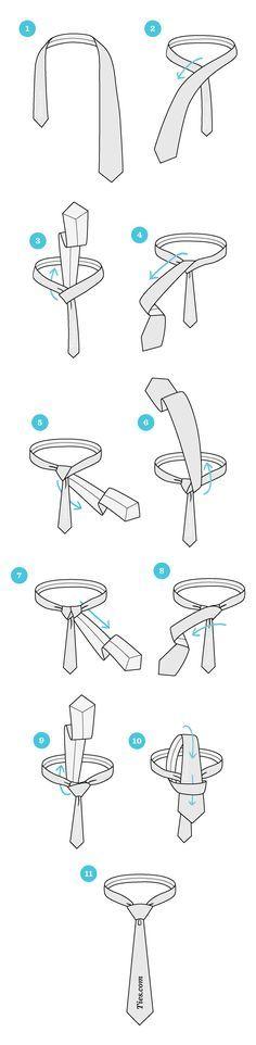 How To Tie A Windsor Knot   Ties.com