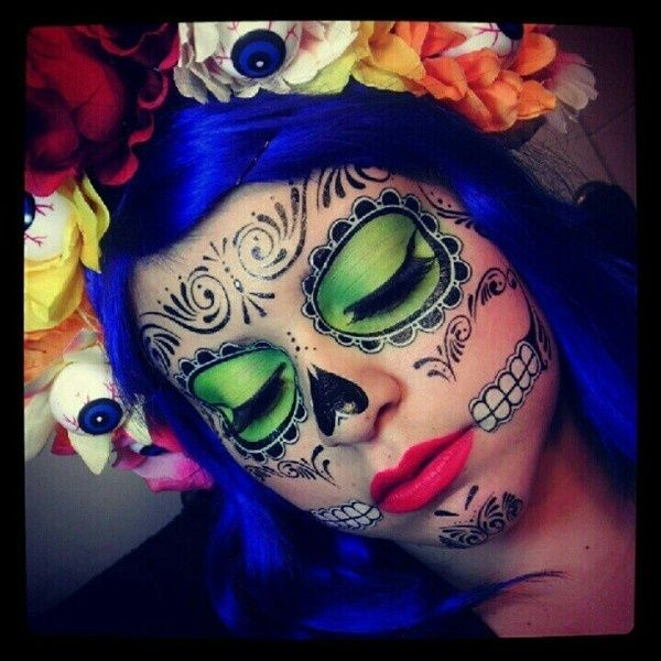 Sugar Skull makeup idea