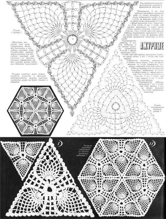 Pineapple Crochet Runner Diagrams Diy Wiring Diagrams