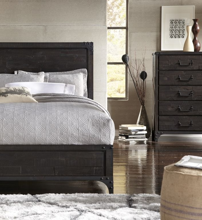 Buxton Bedroom. Brand New Collection Crafted From Butcher Block Acacia In A  Matte Antique