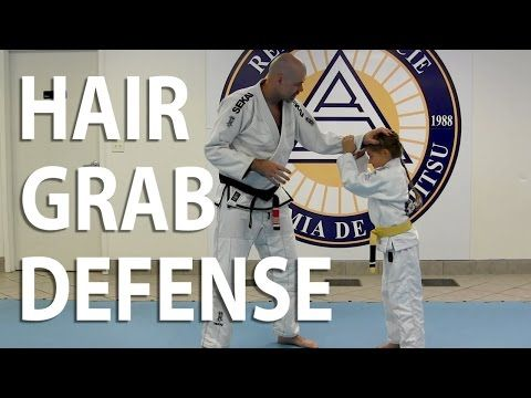 How to Play Jiu-Jitsu With Your Kids Part 6: Hair Grab Defense | Relson Gracie Jiu Jitsu Academy - Columbus, OH