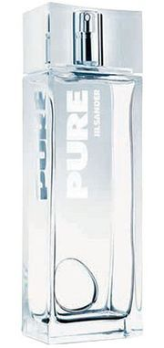 Jil Sander Pure Jil Sander for women - Top note is sea notes; middle notes are white musk and jasmine; base notes are cyclamen, sandalwood and amber.