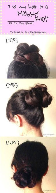 {New & Improved} Braided Top Knot Tutorial | Pretty Gossip