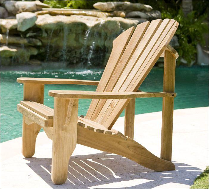 Avondale Adirondack Chair - Douglas Nance Premium Teak Furniture