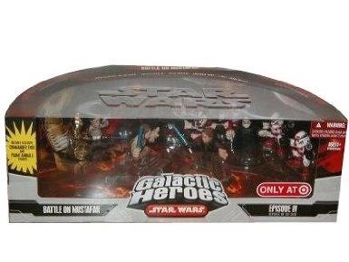 Amazon.com: Star Wars Galactic Heroes Mini Figure Battle on Mustafar Multi-Pack: Toys & Games