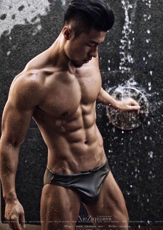 Sexy asian guy