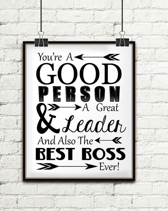 You're A Good Person A Great Leader And Also The Best Boss Ever, Gift For Boss, Boss Gift, Gifts For Your Boss, Gift Ideas For Boss, Bosses