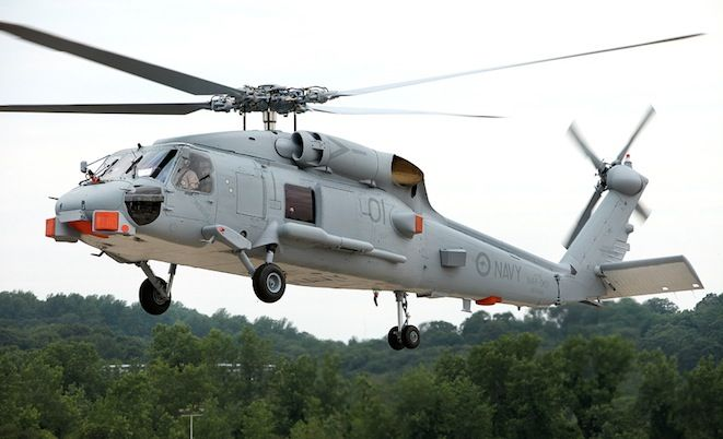 Romeo rising – first RAN MH-60R flies | Australian Aviation Magazine