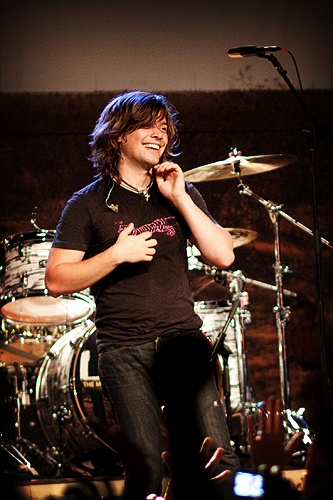 Zac Hanson... yes, that Zac Hanson!  He was my back up plan for a husband if Taylor didnt work out.  haha