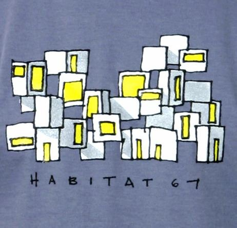 Habitat 67 t-shirt for men from Montrealité