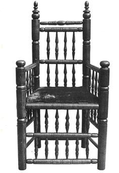 early american furniture brewster chair - Google Search