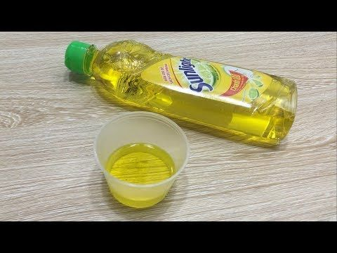 how to make goo with glue and dish soap