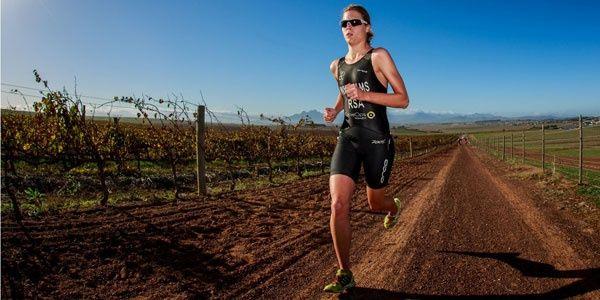 Durbanville triathlon in the vineyards...Cape Town