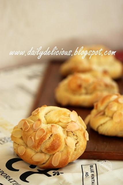 Almond Twists: A twist of happy baking!