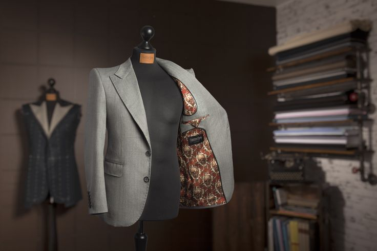 Bespoke jacket 30's Style made by Sebastian Hoofs