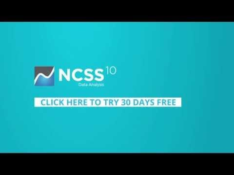 #ncss10 #statistics #statisticalsoftware NCSS 10: Pros and Cons
