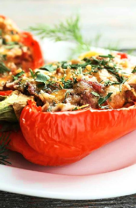 Stuffed vegetables  -- Low FODMAP Recipe and Gluten Free Recipe #lowfodmaprecipe #glutenfreerecipe #lowfodmap #glutenfree   http://www.ibs-health.com/low_fodmap_stuffed_vegetables12112.html