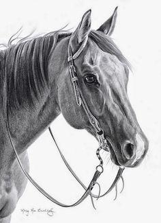 dibujos-caras-caballos-lapiz