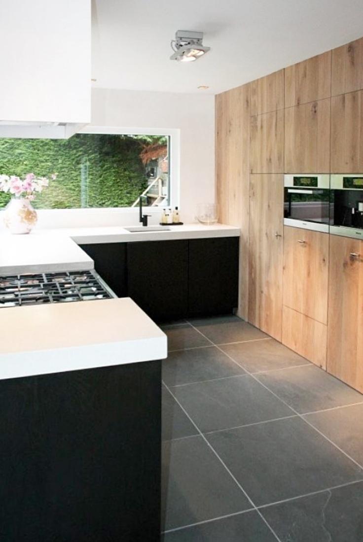 25 beste idee n over lichte houten keukens op pinterest houten keukenkasten en hedendaagse - De beste hedendaagse keukens ...