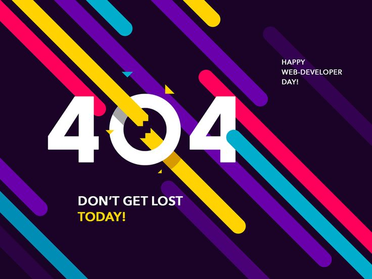 Working with a team of web-developers we couldn't just skip April, 4th. Happy 404 day to you all, guys!