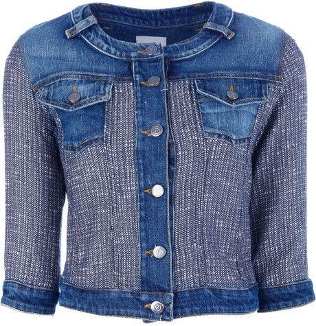 Pinko Sentimento Denim Jacket in Blue (denim)