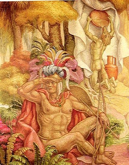 Luis Alberto Acuña, Teogonía de los dioses chibchas