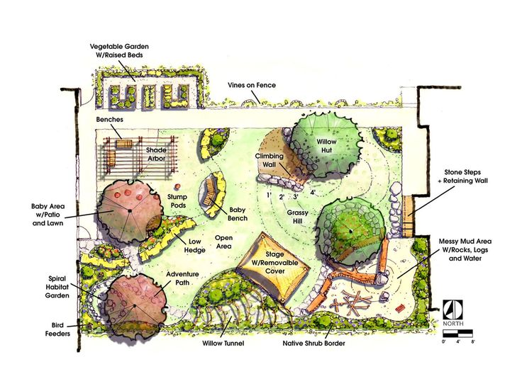 Playground blueprints woodworking projects plans for Playground blueprints
