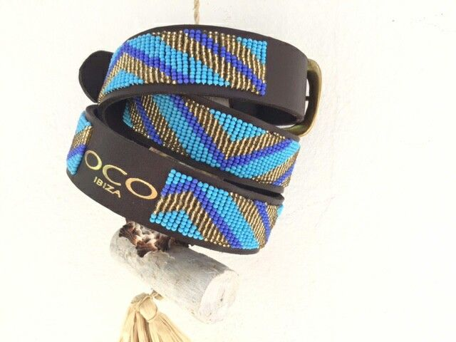 Handmade belts OCO IBIZA, Masai style ~ check them out!  . WhatsApp: 0034 667 640 713 .