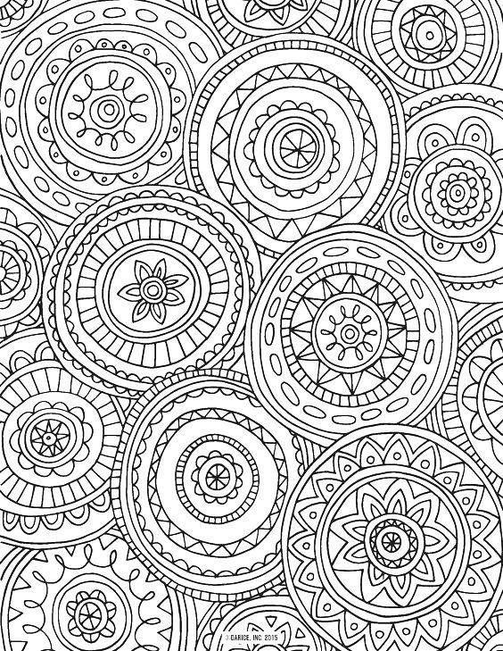 107 mejores imágenes de Zentangle boyama en Pinterest | Coloración ...
