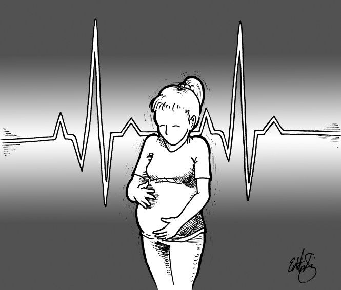 My First Appointment: Most Beautiful Heartbeat  I got on the examination table, she put the gel on me and I almost stopped breathing. She searched around for a little while and my heart started to sink when all I heard was my own heartbeat. She moved to the left of my tummy and there it was. A quick and strong heartbeat.
