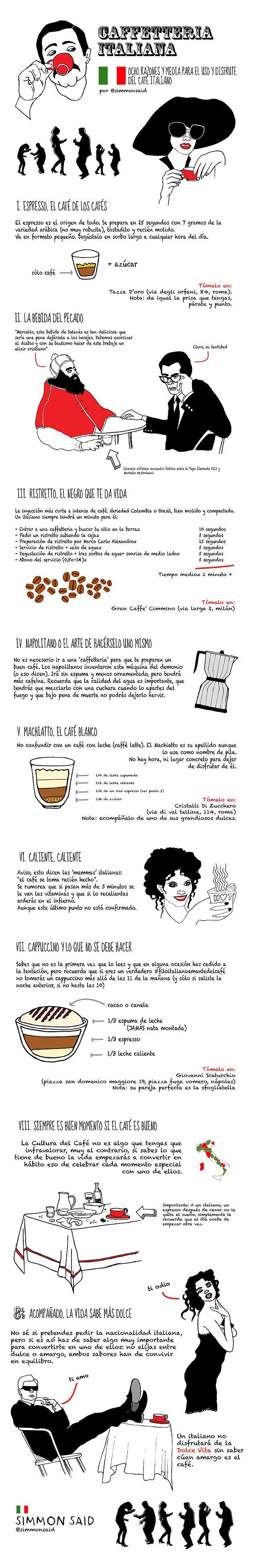 Café italiano: instrucciones de uso y disfrute http://www.traveler.es/viajes/placeres/articulos/cafe-italiano/4858