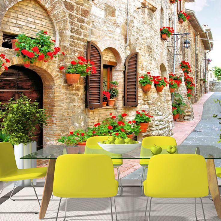 Fototapeta - dekoracja ścienna XXL - klimat włoskiej prowincji w Twoim domu! #fototapety #artgeist #włochy #dekoracjaścienna