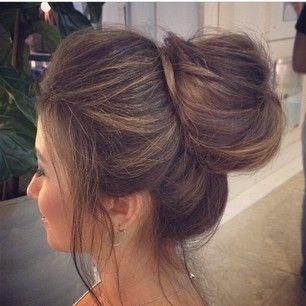 Messy Bun Bangs - Hairstyles How To
