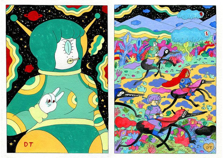 Paintings - Donya Todd Illustration