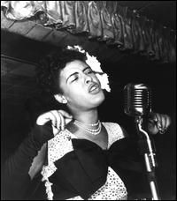 Billie Holiday, one of my faves. Her voice captivates me
