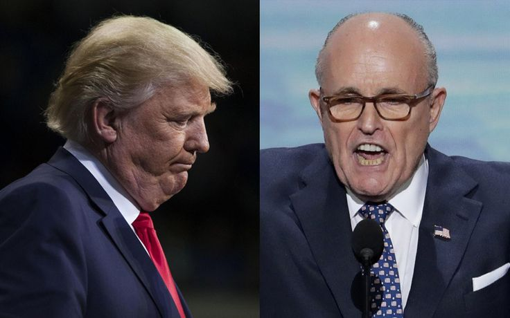 The FBI Just Announced Rudy Giuliani Is Under Investigation    His crooked stunts during the campaign have come back to haunt him.