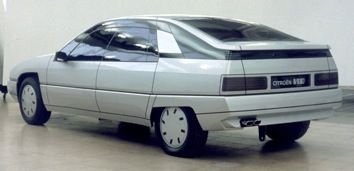 OG | Citroën XM | In-house design proposal leaded by Olsen (from Vélizy) done in 1984/5.