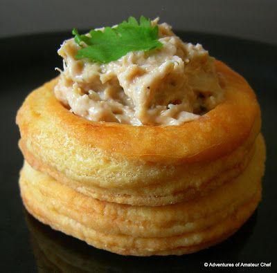 Oltre 1000 idee su vol au vent su pinterest pasticcini for Pastry canape fillings