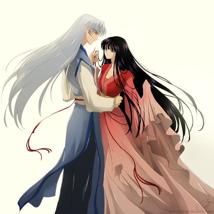 Images of Kagome And Sesshomaru In Love - www industrious info