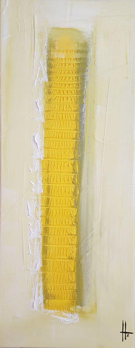 Tableau abstrait peinture contemporain (Sandrine Hartmann)