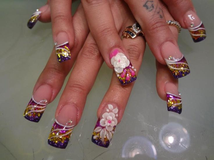 1000 ideas about 3d acrylic nails on pinterest acrylic for 3d nail art salon