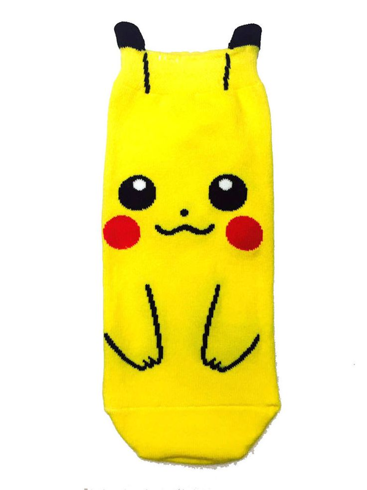 New unisex men women Cotton Pocket Monsters Pikachu Character socks