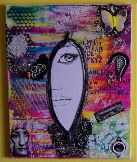 """""""Focus"""" - 50x40 cm canvas"""
