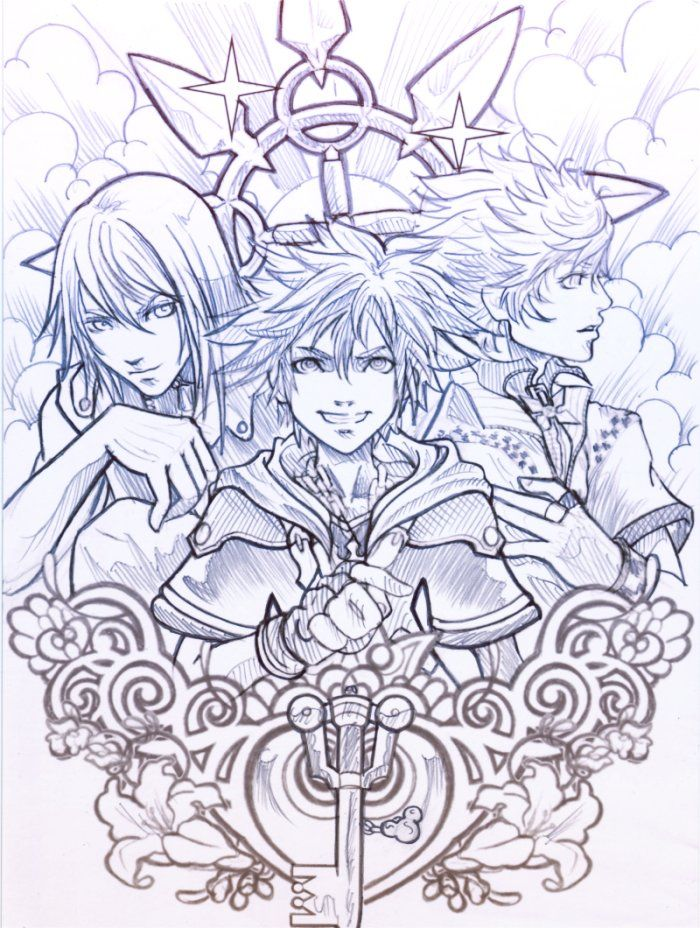 428 best Kingdom Hearts images on Pinterest Squares Final