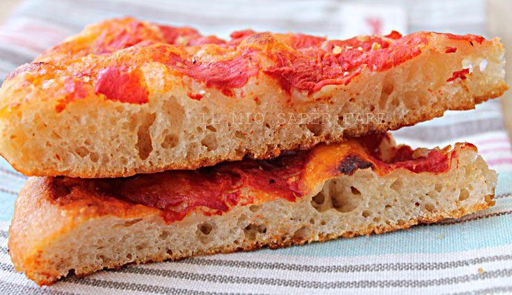Pizza in Teglia con Lievito Madre croccante e digeribile by Il Mio Saper Fare