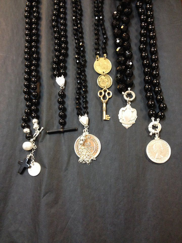 Ironstone Cottage in Tanunda Like onyx necklaces? Ironstone Cottage have a new range in. Pop in and see them