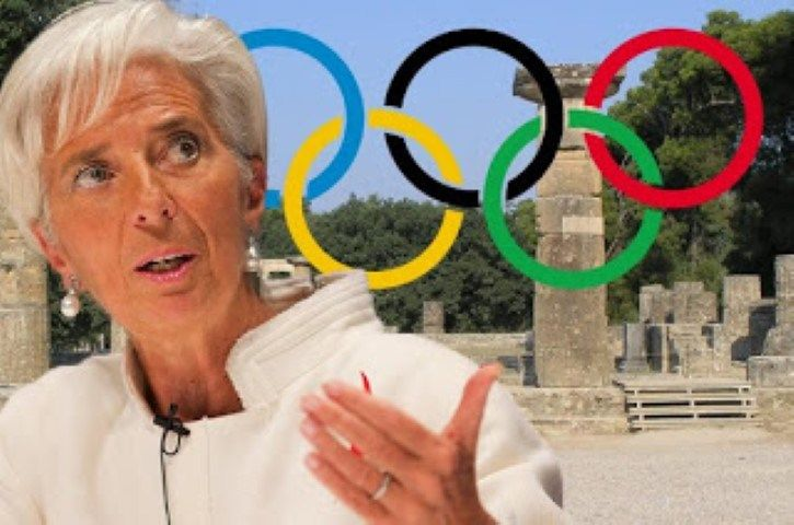 Λαγκάρντ: Ενδιαφέρουσα ιδέα να διεξάγονται οι Ολυμπιακοί μόνιμα στην Ελλάδα