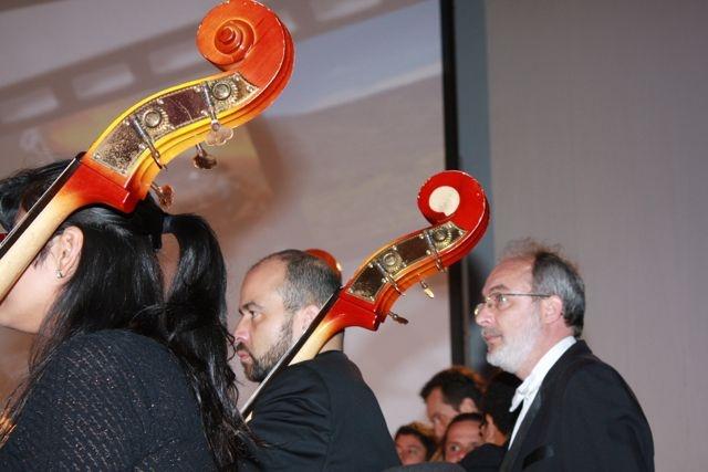 ¡Sinfónica en acción!  Crédito Miltón Ramírez/MinCultura 2012