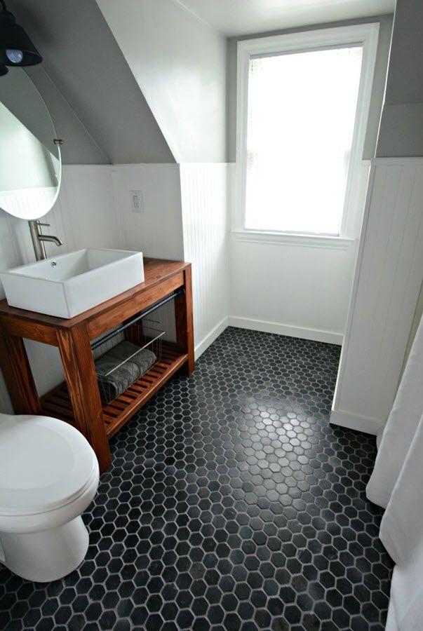 33 black slate bathroom floor tiles ideas and pictures. 17 Best ideas about Black Bathroom Floor on Pinterest   Bathroom