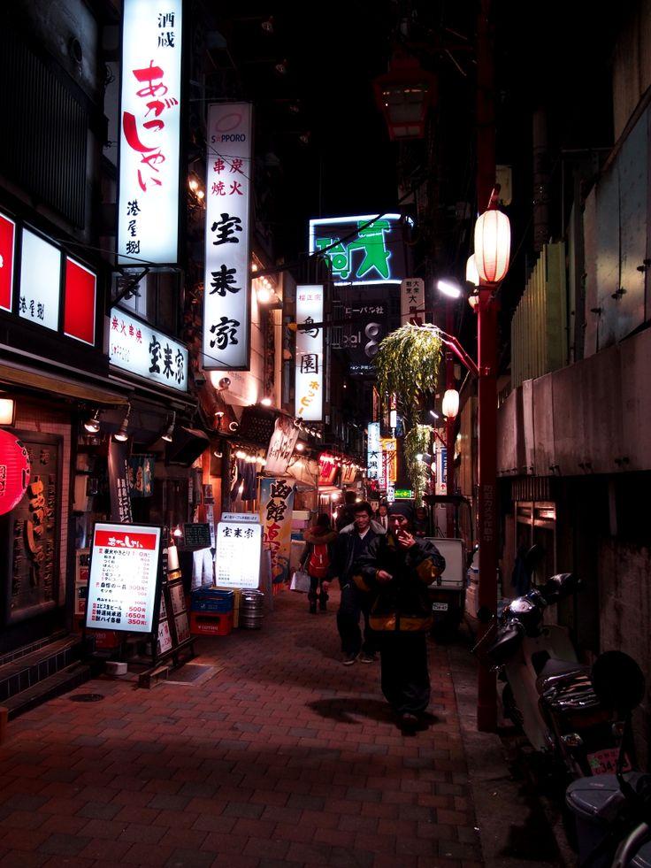 新宿西口 思い出横丁 / shinnjyuku,Tokyo,Japan
